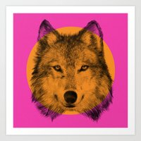 eric fan Art Prints featuring Wild 7 by Eric Fan & Garima Dhawan by Garima Dhawan