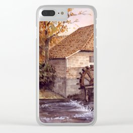 Watermill Clear iPhone Case