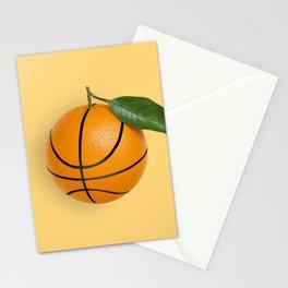 Basketball Orange Orangeball Stationery Cards