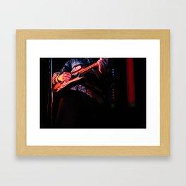 guitarist from great good fine ok Framed Art Print