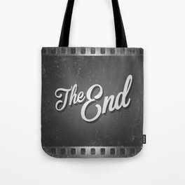 The End / poster Tote Bag