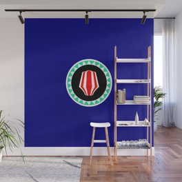 flag of bougainville Wall Mural