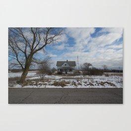 Bechtel Road Canvas Print