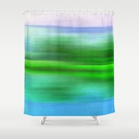 poem Shower Curtains featuring EARTH POEM by Catspaws
