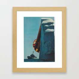 trispace Framed Art Print
