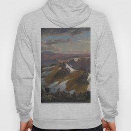 Northeast view from the northern top of Mount Kosciusko by Eu von Guerard Date 1863  Romanticism  La Hoody