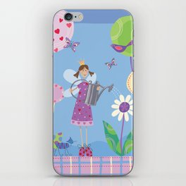 Fairy in the Garden iPhone Skin