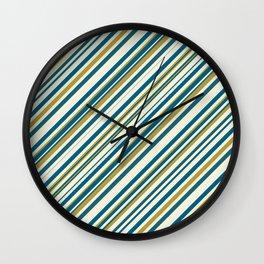 Stripe Me Up Wall Clock