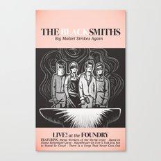 The Blacksmiths ANALOG zine Canvas Print