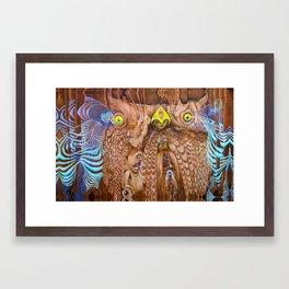 Owl Magic Framed Art Print