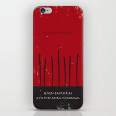 Seven Samurai iPhone & iPod Skin