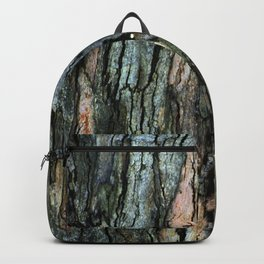 Old Eucalyptus Tree Bark Texture Backpack