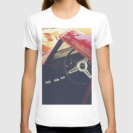 Triumph spitfire, english sports car fine art photography, classy man cave print T-shirt