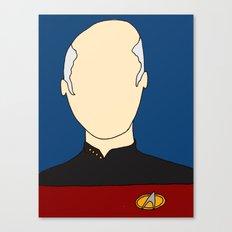 O Captain! My Captain! Canvas Print