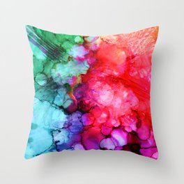 Rainblow Throw Pillow
