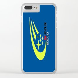 STI S209 Rally Clear iPhone Case