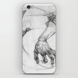 hand of life iPhone Skin