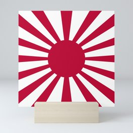 Historic War flag of the Imperial Japanese Army Mini Art Print