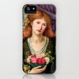 "Marie Spartali Stillman ""Luisa Strozzi"" iPhone Case"