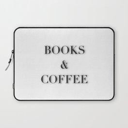 BOOKS & COFFEE Laptop Sleeve