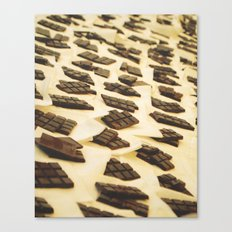 Chocolate en Sant Antoni Canvas Print