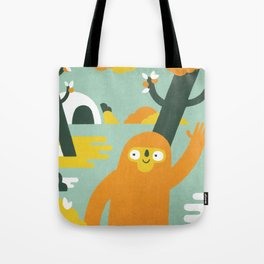 Mango Hunter Tote Bag