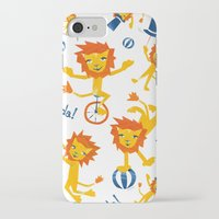 lions iPhone & iPod Cases featuring Lions by Kendra Shedenhelm