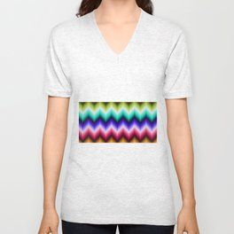 Abstract ornament Unisex V-Neck