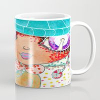 murakami Mugs featuring Blythe Doll from Dimension 6 by LeLu'sToYmaker
