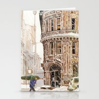 takmaj Stationery Cards featuring Winter in NYC by takmaj