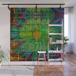 Electric Daisy Land Wall Mural