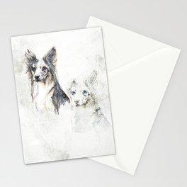 Collie dog Stationery Cards