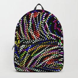mardi gra beads Backpack