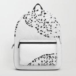 Brain with dots Backpack