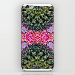 Killer Cacti - Exploring Nature's Patterns iPhone Skin