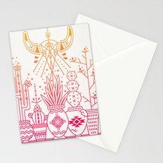 Santa Fe Garden – Pink/Orange Ombré Stationery Cards