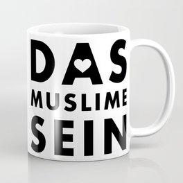 Das Muslime sein [WB] Coffee Mug