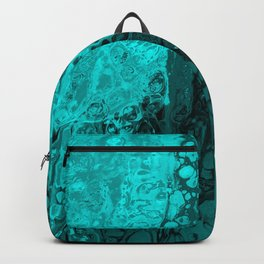 turqouise cold as ice  Backpack