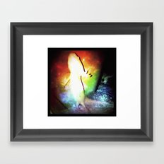 :: AXOLOTL Framed Art Print
