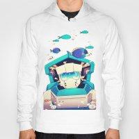 underwater Hoodies featuring Underwater by Coralus