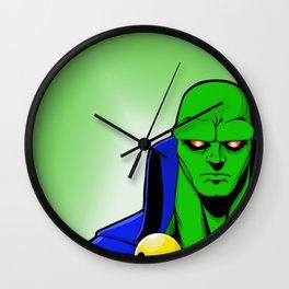 Martian Manhunter Wall Clock