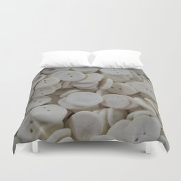 Sand Dollars Duvet Cover