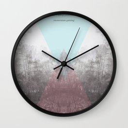 Hilltop Procession (ANALOG zine) Wall Clock