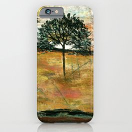 I Will Remember, Rustic Landscape iPhone Case
