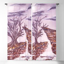 Tree of Solitude Blackout Curtain