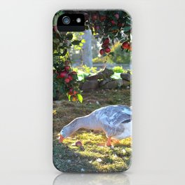 Goose & Old Apple Tree iPhone Case