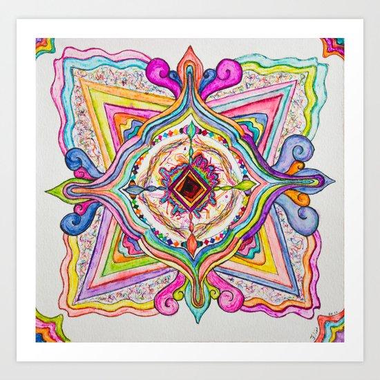 Molecular Probe   Art Print