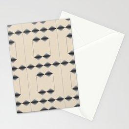 Diamond Stripes Stationery Cards