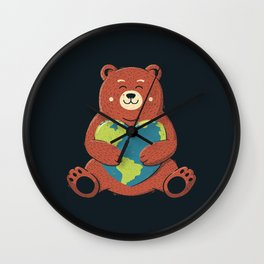 Earth Love Wall Clock