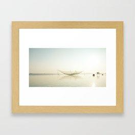 Fishermen's village Framed Art Print